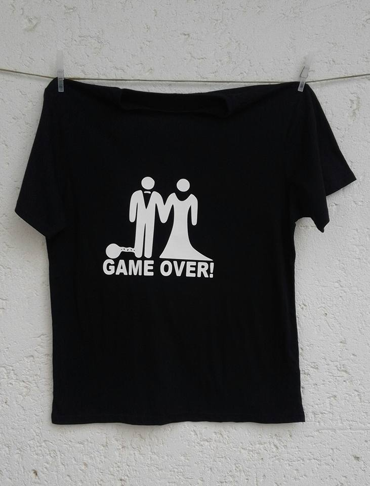 &quotgame-over-&quot--t-shirt--print