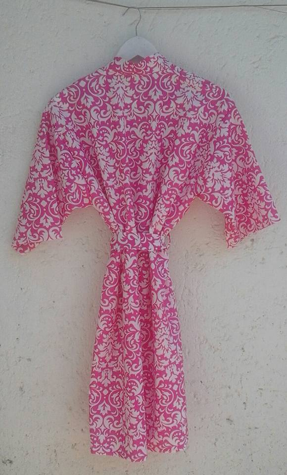 floral-robe--cotton--cerise-pink-