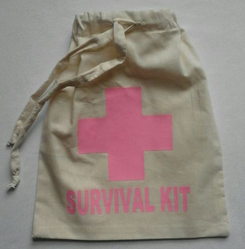 &quotsurvival-kit&quot--drawstring-bag-