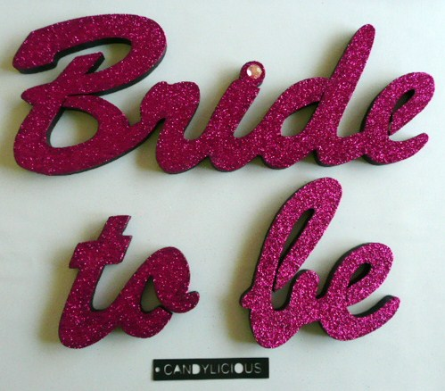 &quotbride-to-be&quot--polystyrene--pink
