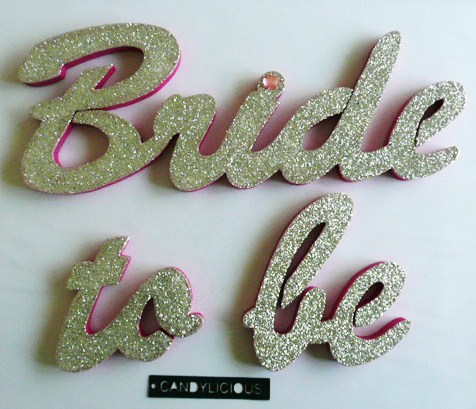 &quotbride-to-be&quot--polystyrene--silver-