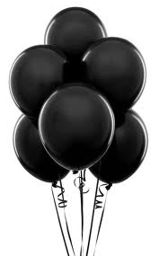 black-party-balloons-