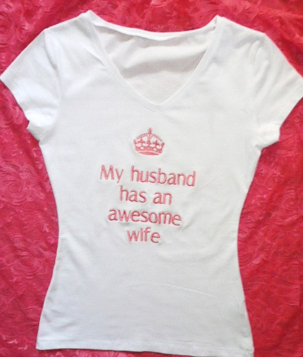 &quotmy-husband-has-an-awesome-wife-&quot--t-shirt-