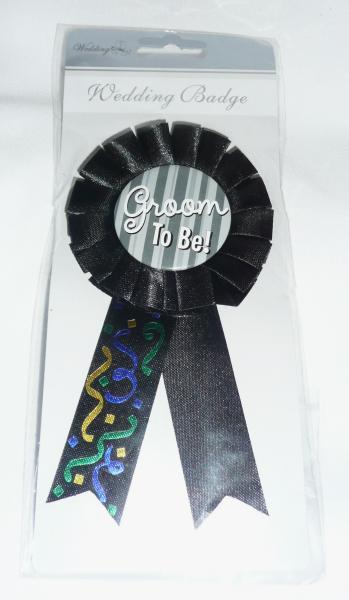 &quotgroom-to-be&quot-badge
