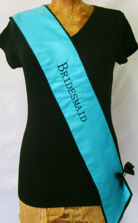 sash--bridesmaid-