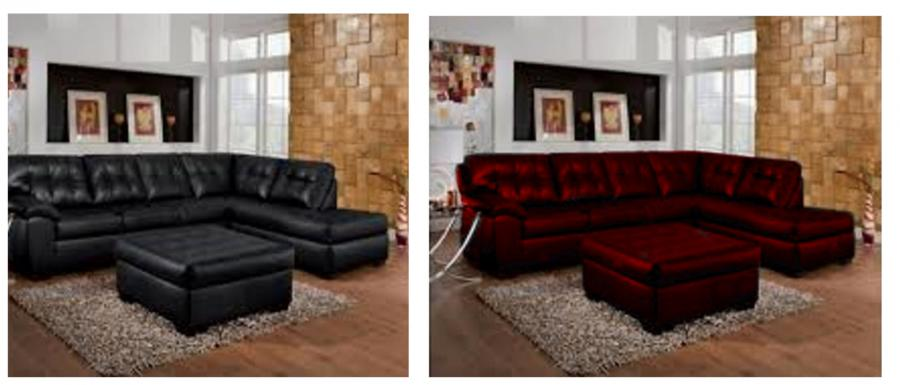 Re Dye Leather Sofa Rooms