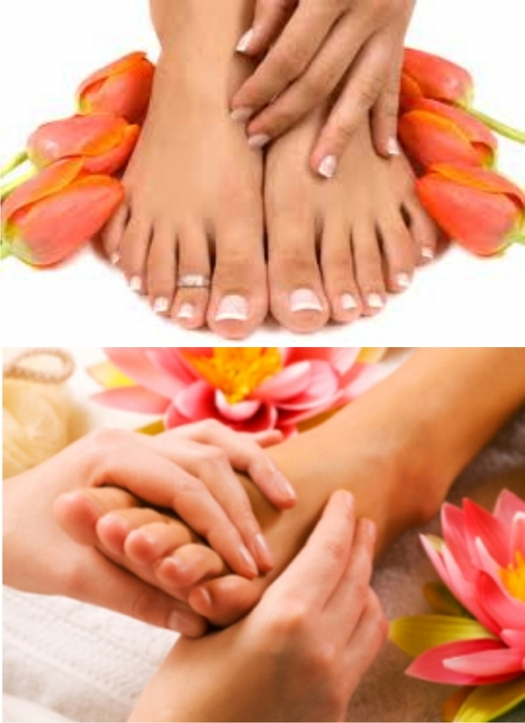 Nails, Manicure, Pedicure - HANDS ON HAIR And BEAUTY SALON. Fourways Gardens, Fourways Sandton, Bryanston, Johannesburg