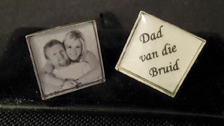 cuff003-cufflinks-square-&ndash-silver-customised-with-own-message--photo