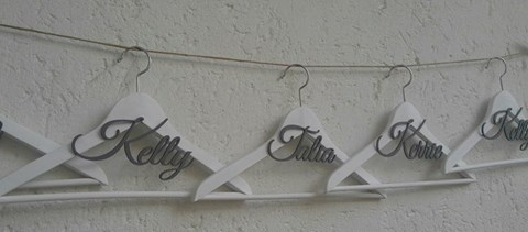 &quotpersonalised-name&quot--hanger--each-any-colour-