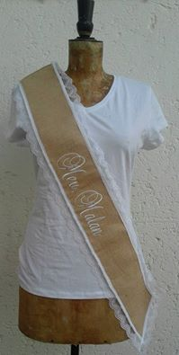 &quotpersonalised&quot-hessian--sash-