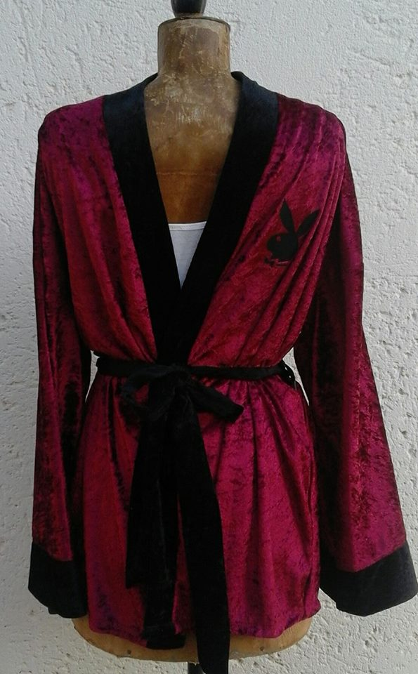 &quotplayboy&quot-unisex-smoking-jacket--maroon