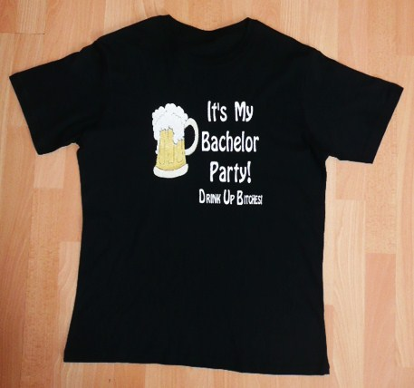 &quot-its&#039-my-bachelor-party-drink-up-bitches-&quot--t-shirt-