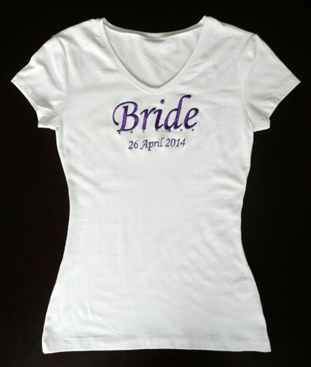 """-bride--date-""--white-t-shirt-"