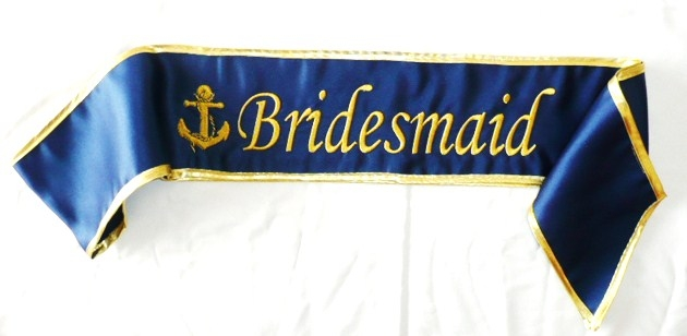 """bridesmaid-""--anchor--satin-sash-"