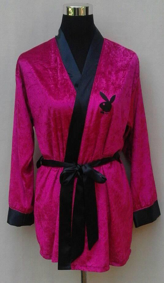 &quotplayboy&quot-unisex-smoking-jacket--cerise-pink