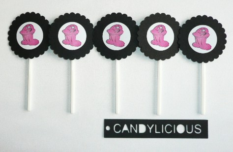 pink-pecker--cupcake-toppers--5-piece