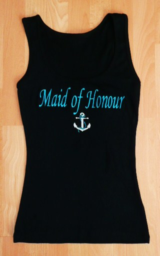 """-maid-of-honour--anchor-""--tank-top-"