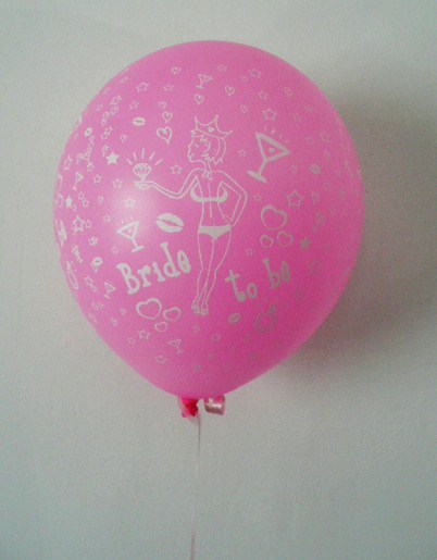 """bride-to-be""-balloon--balloon-stick--pink-with-white-"