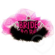 """bride-to-be""-tiara-and-veil-"