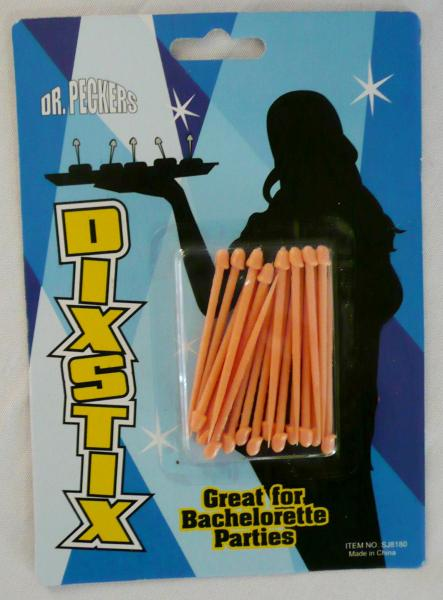 """dick-stixs""--pecker-cocktail--toothpick-sticks--10-qty"