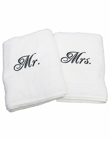 bride-&-groom--mr-&-mrs--just-married--novelty-gifts