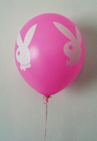 playboy-bunny-balloon--balloon-stick--pink-with-white-faces