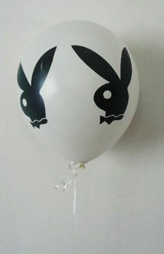 playboy-bunny-balloon--balloon-stick--white-with-black-faces