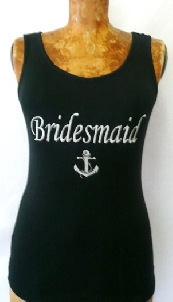 """bridesmaid-""--anchor--silver-embroidery-"