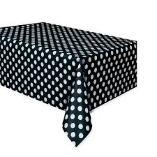table-cloth-plastic--black-polka-dots-