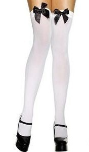opaque-thigh-highs--white-with-black-satin-bow-