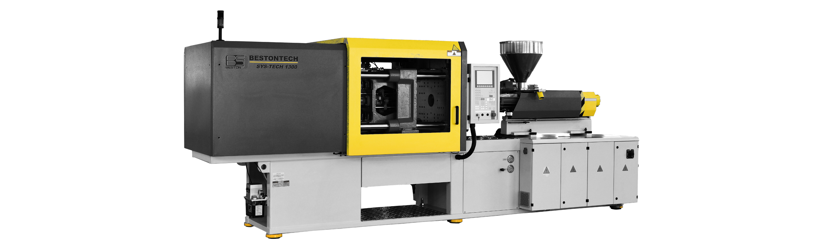 An injection moulding machine manufactured from components from Asia, the Beston BTW-V Series is priced competatively and saves energy for plastics businesses.