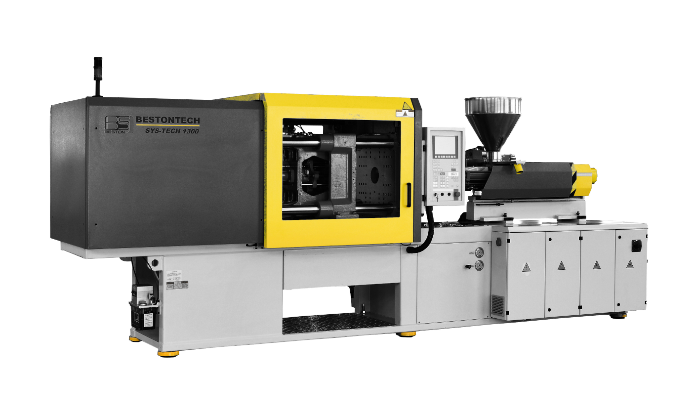 An injection moulding machine manufactured from components from Asia, the Beston BTW-V Series is priced competitively and saves energy for plastics businesses.