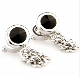 cuff030-cufflinks-black-dot