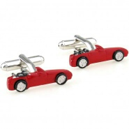 cuff048-cufflinks-red-car
